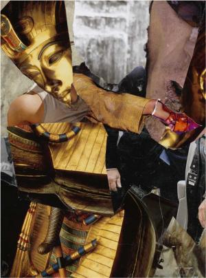 Resurrection, collage 257